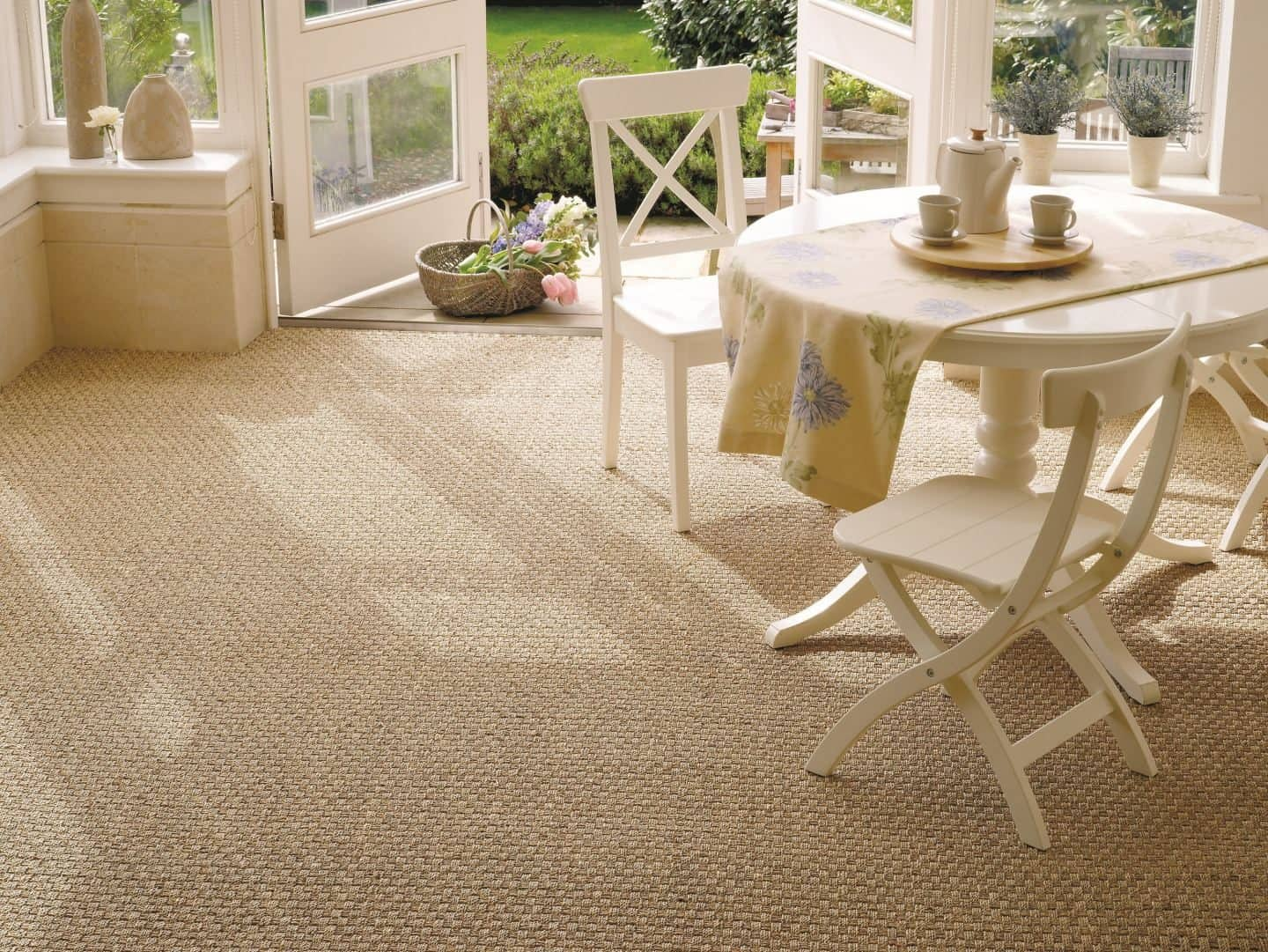 Kersaint Cobb - Seagrass, Basketweave - Natural Flooring