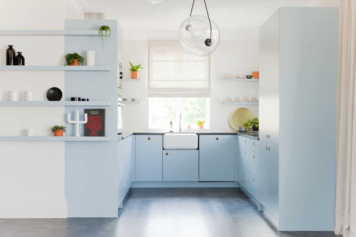 Trend : Colourful Kitchen Cabinetry - The Design Sheppard