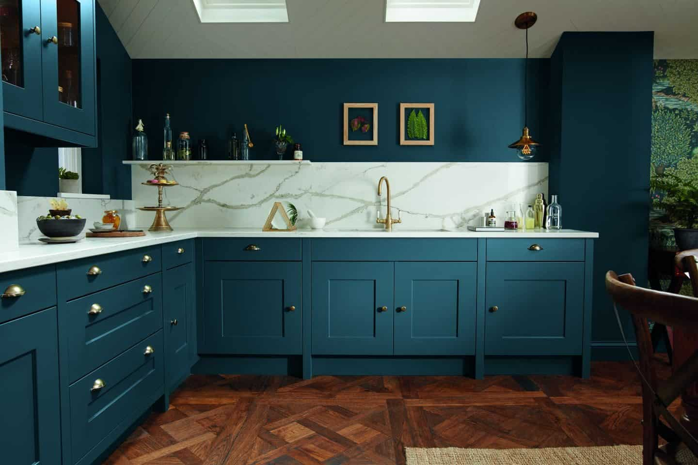 Trend Colourful Kitchen Cabinetry