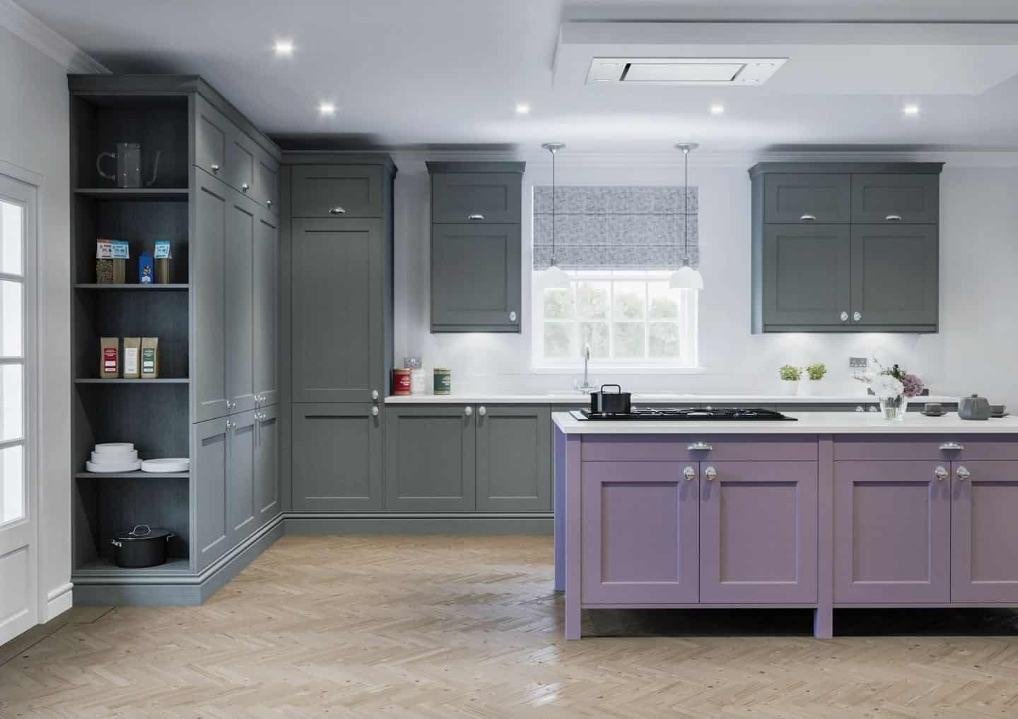 LochAnna Kitchens, The Natural Georgian Collection, Cinder & Lavender