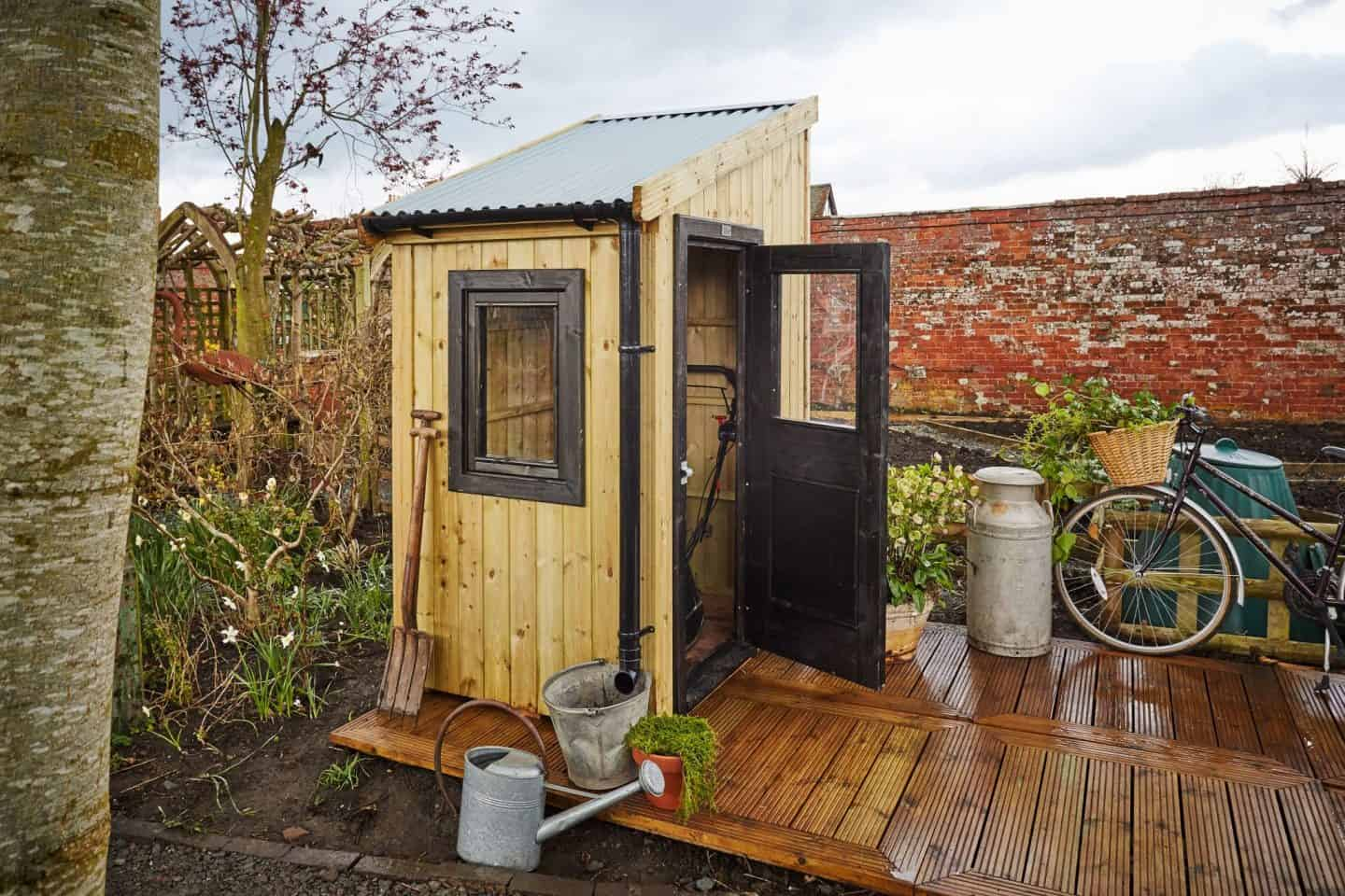 The Posh Shed Company -Gardener Shed - Single Module