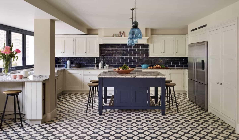 Urban Blue kitchen by Martin Moore