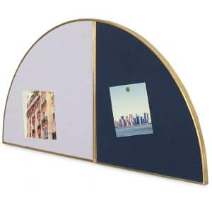 Semi Circle Linen Photo Pin Board