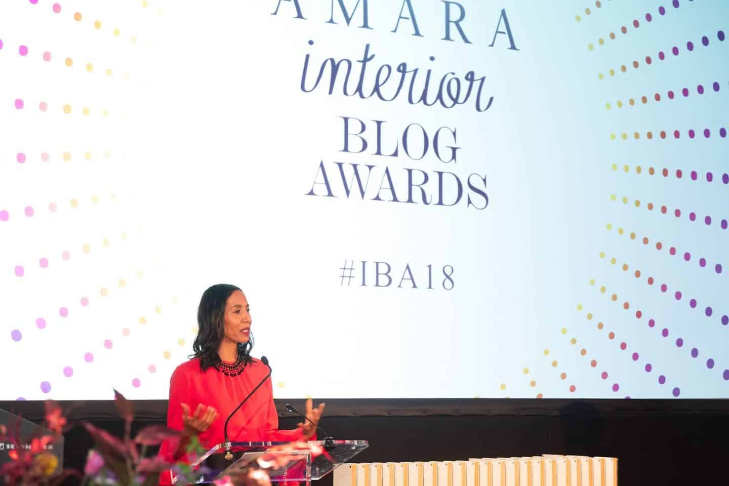 Amara Interior Blog Awards 2018 at One Marylebone