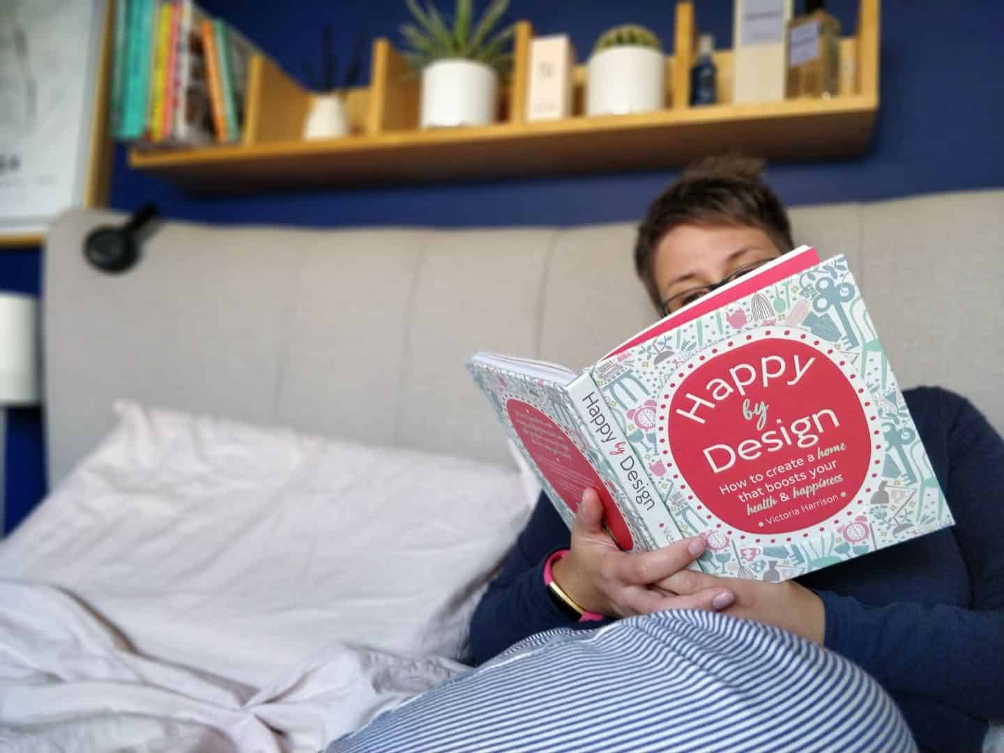 How to Design your own happiness -Reading on the bed 1