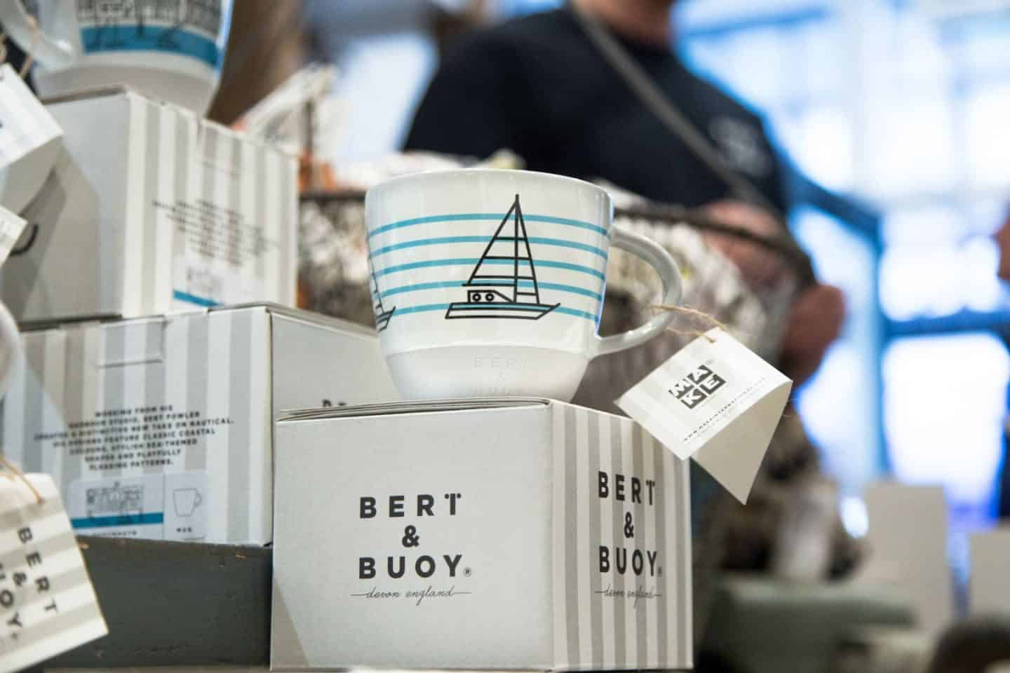 BERT & BUOY DARTMOUTH SHOP OPENING - The ceramic mugs
