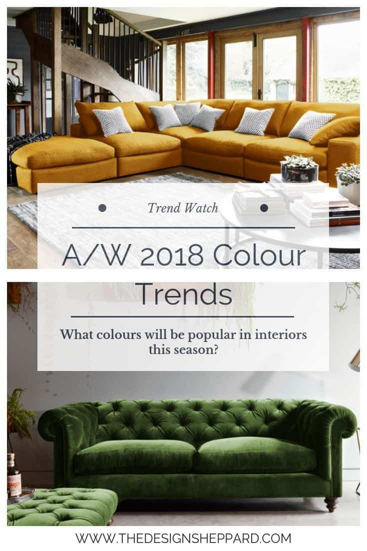 Colour Trends AW 2018 Pin