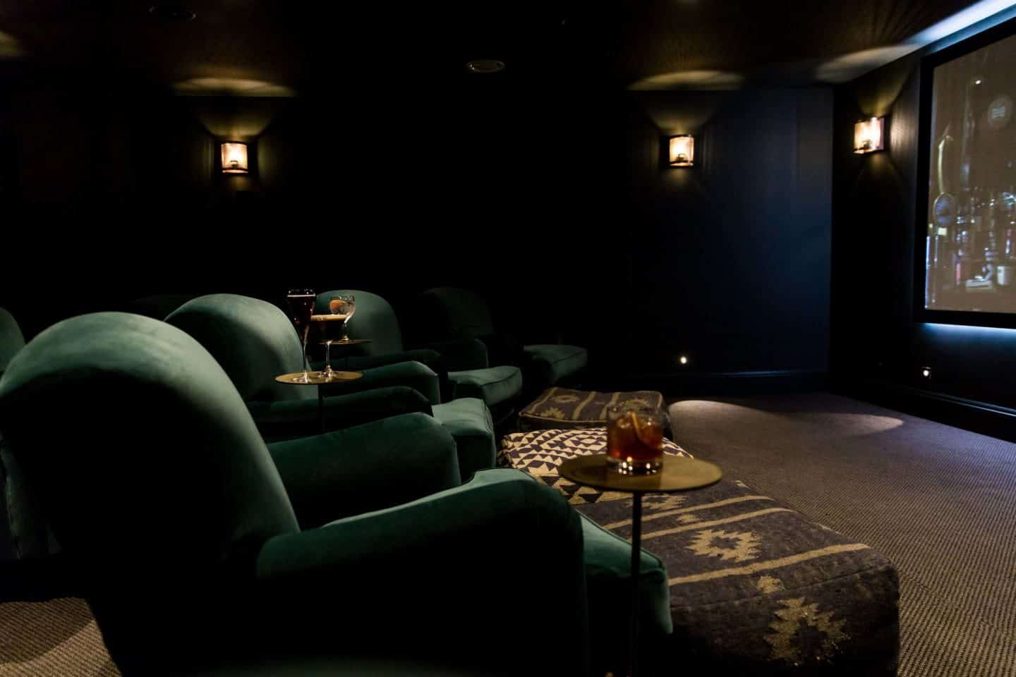 Gara Rock Design Hotel Devon 10 - Cinema Room