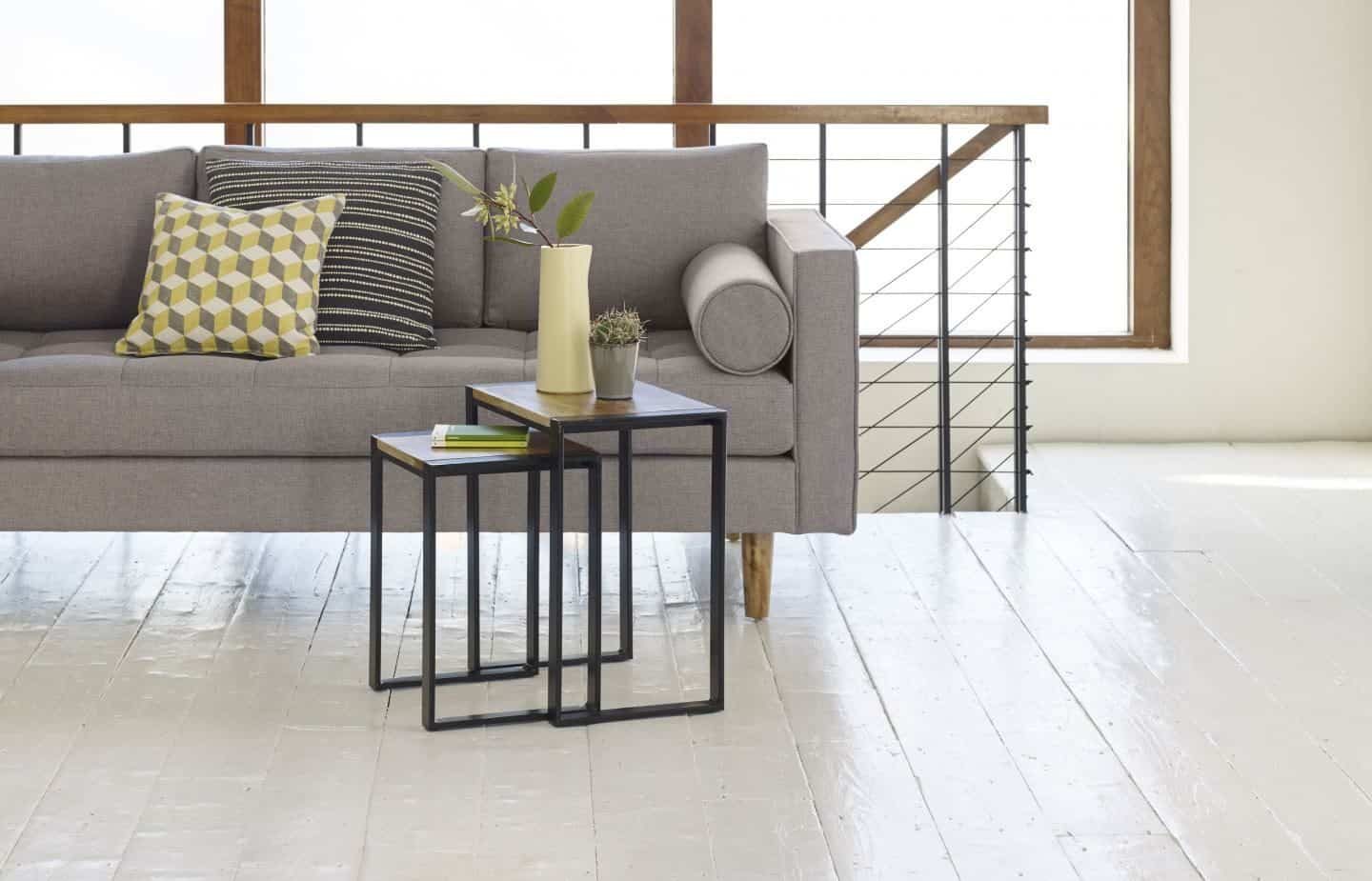 Out & Out Original - Sebastian industrial nesting side tables