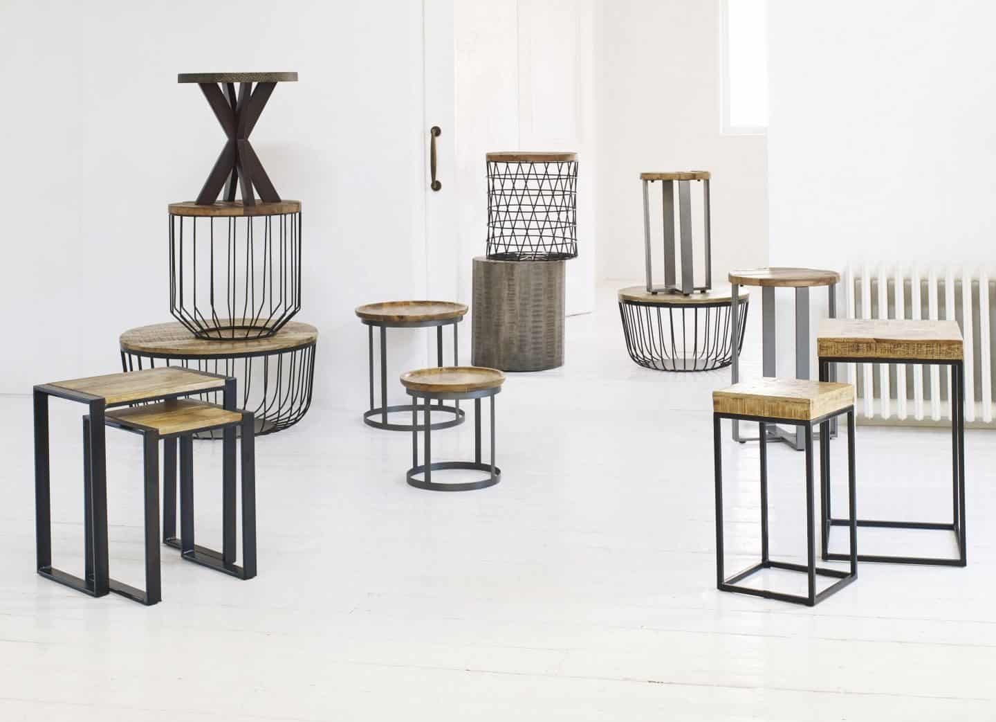 Out & Out Original - industrial coffee & side table collection 1