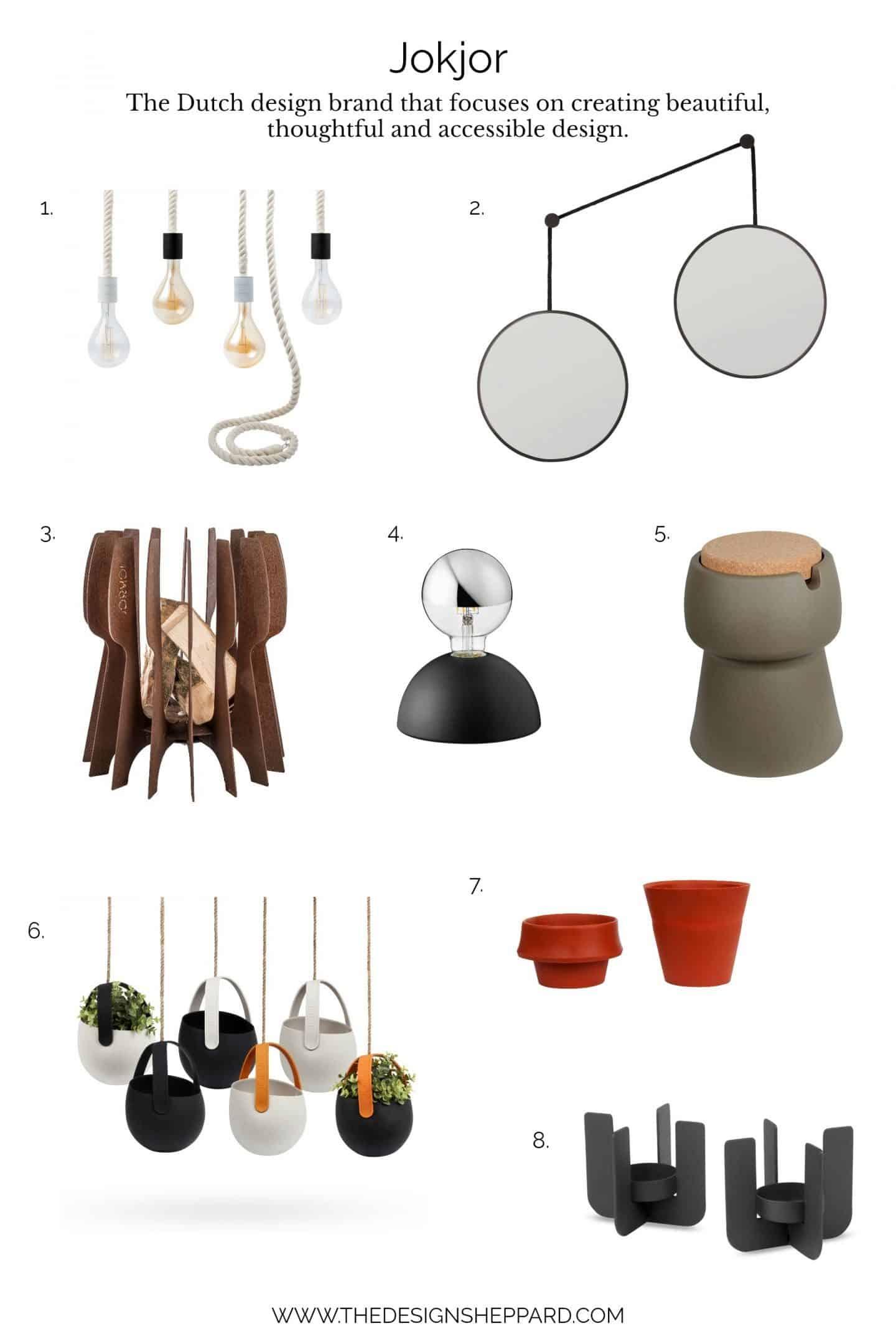 Where to shop - Dutch design brand Jokjor