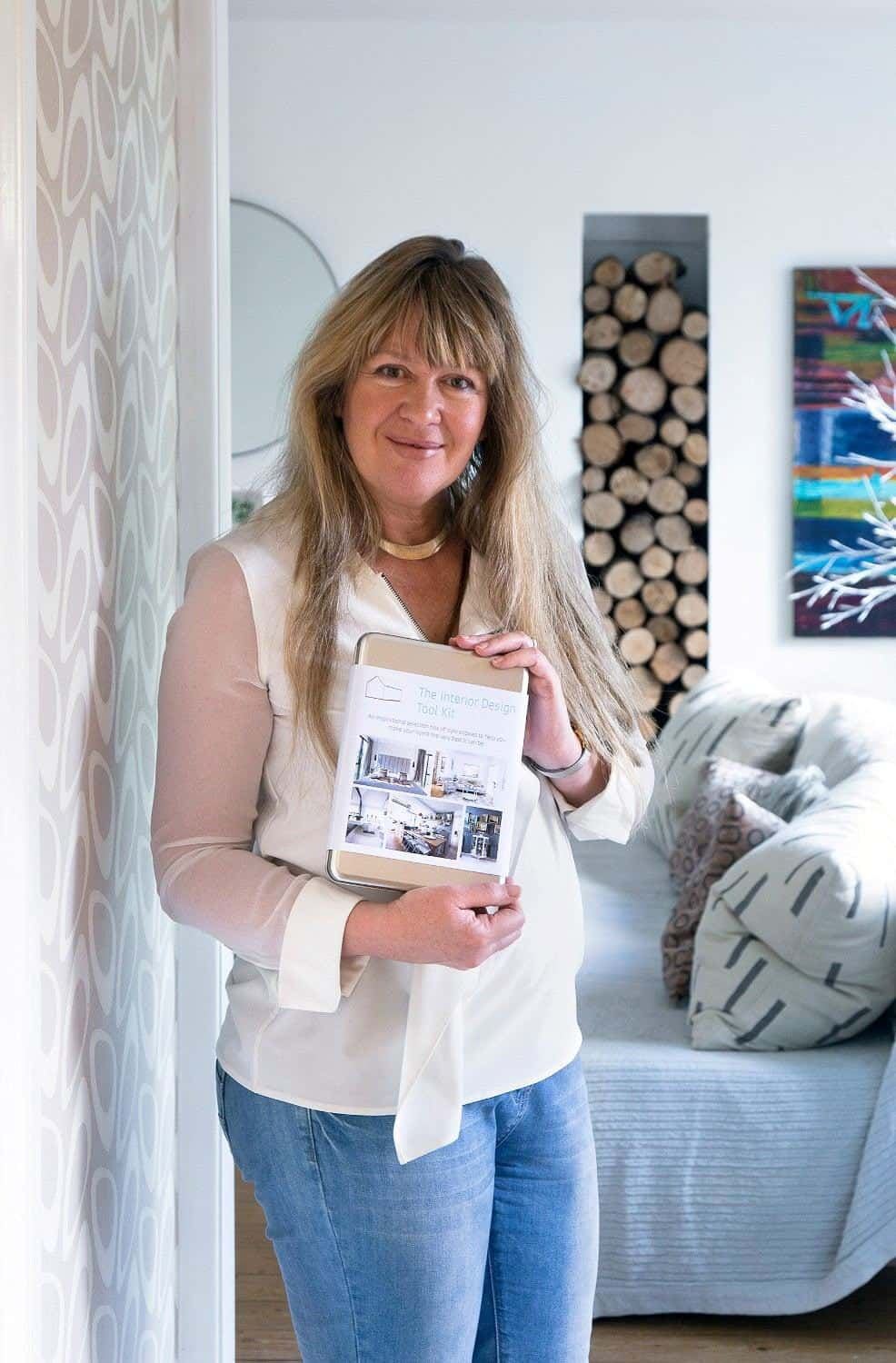 Alison Gibb Inventor of the Interior Design Toolkit