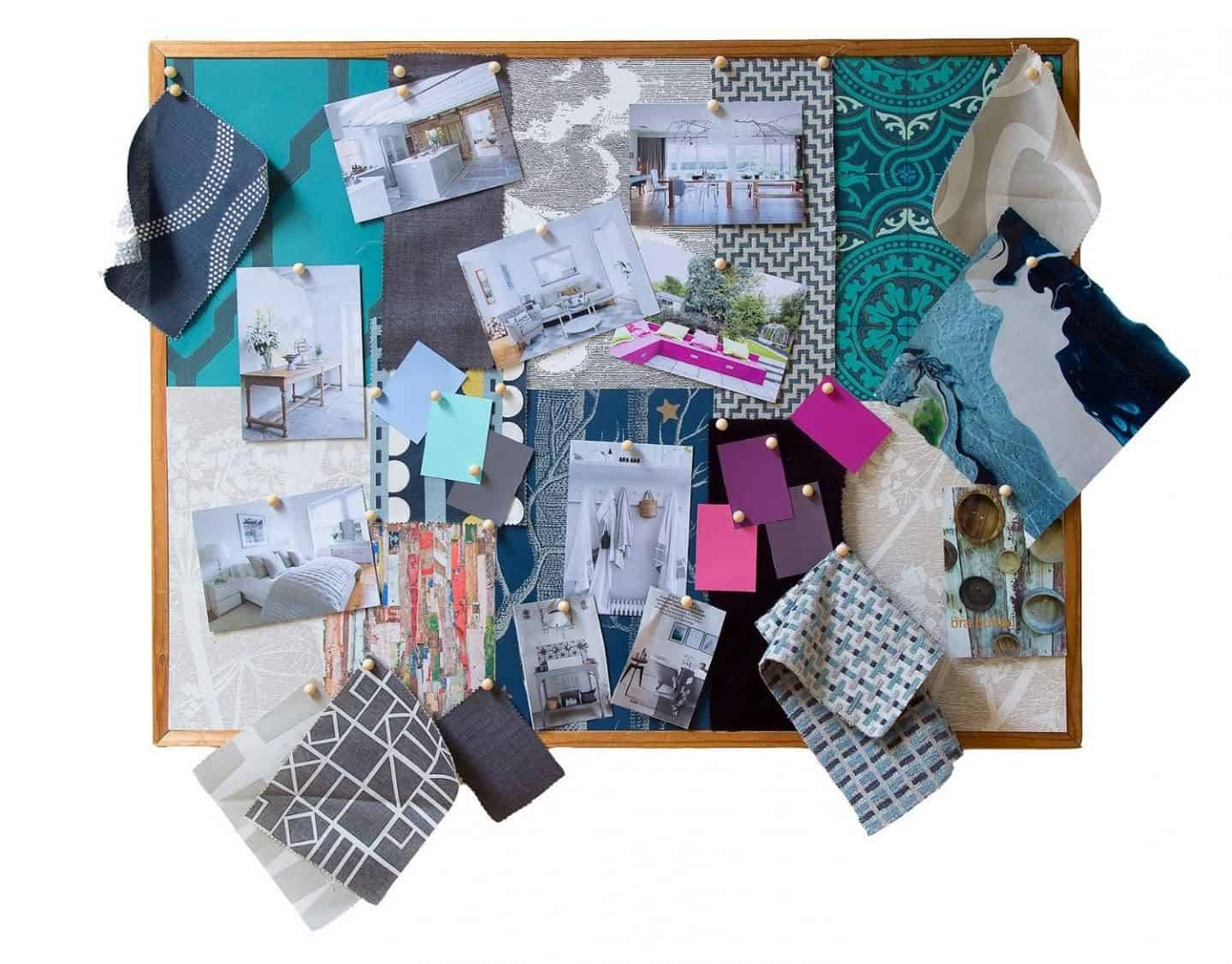 Alison Gibb Inventor of the Interior Design Toolkit - Mood Board