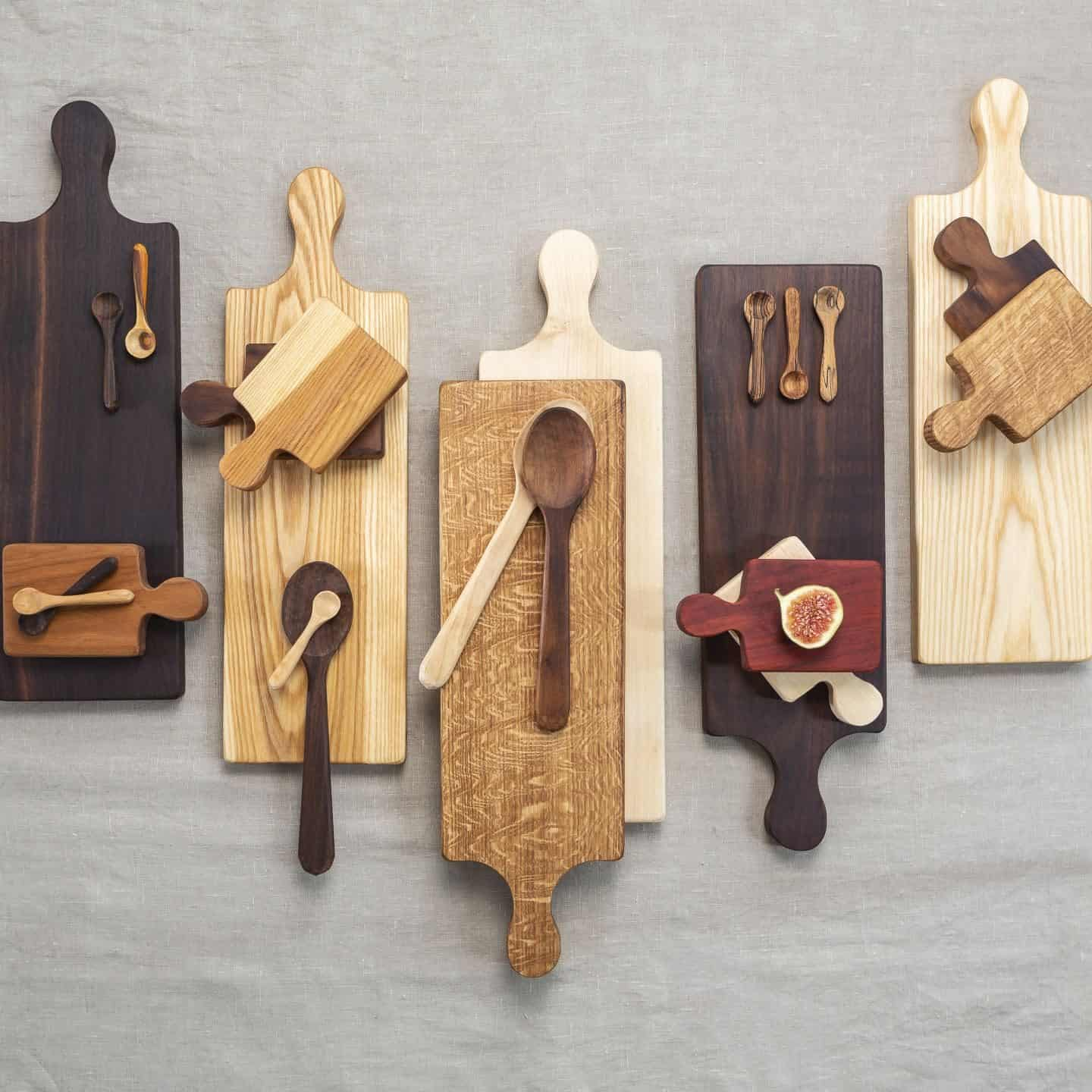 Martha & Me artisan collection - wooden chopping boards