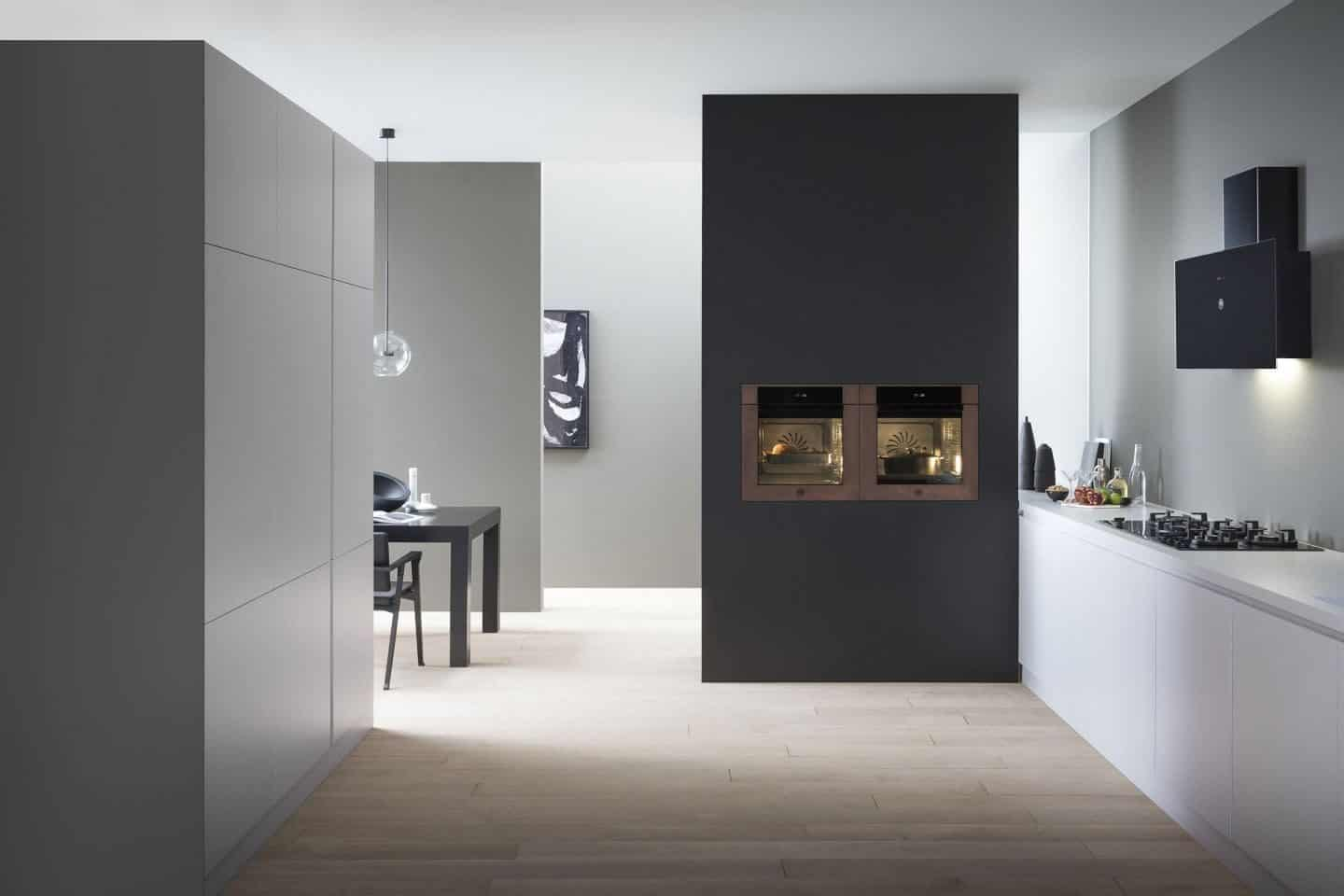 Kitchen Design Trends - Built-in Appliances from Bertazzoni's Modern Series