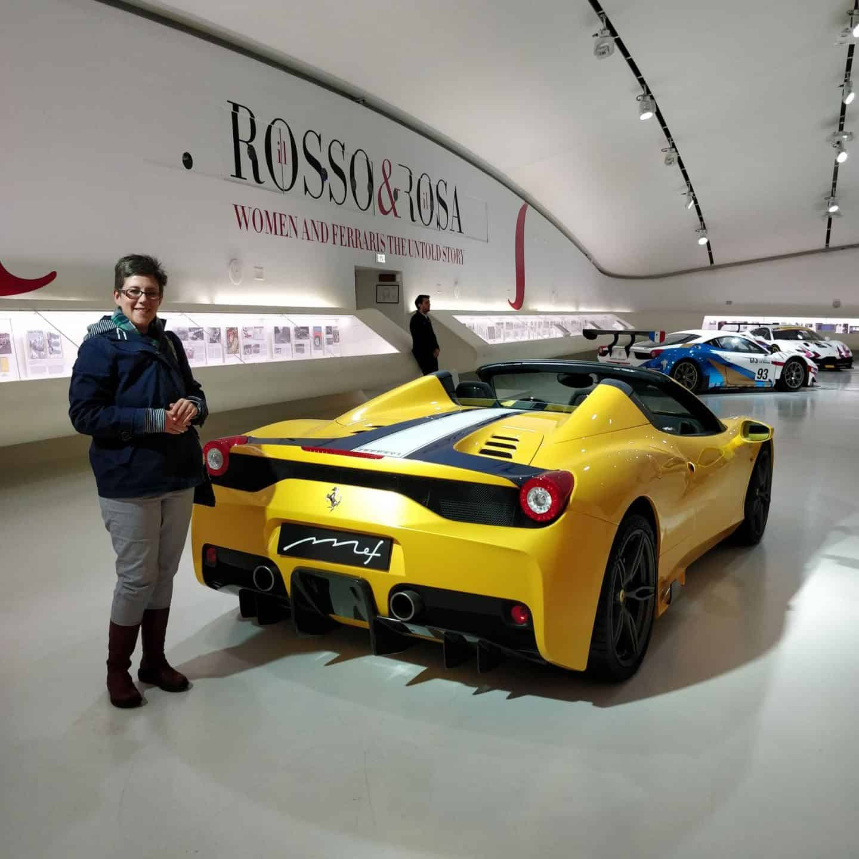 The Ferrari Museum in Italy