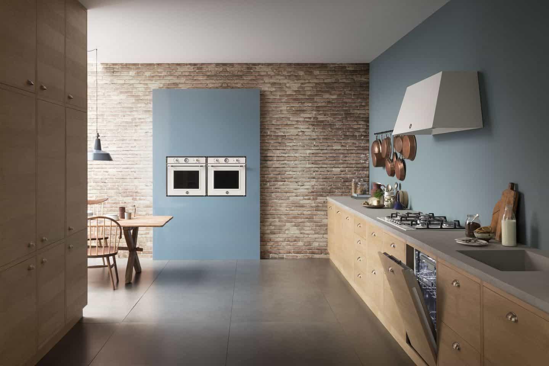 The Bertazzoni built-in appliance range shown in situ in a modern kitchen.