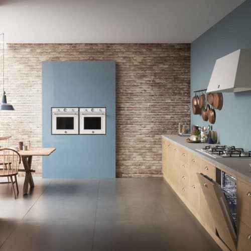 Bertazzoni built-in appliances in a modern kitchen