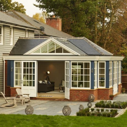 Garden room - How to choose a glazed extension