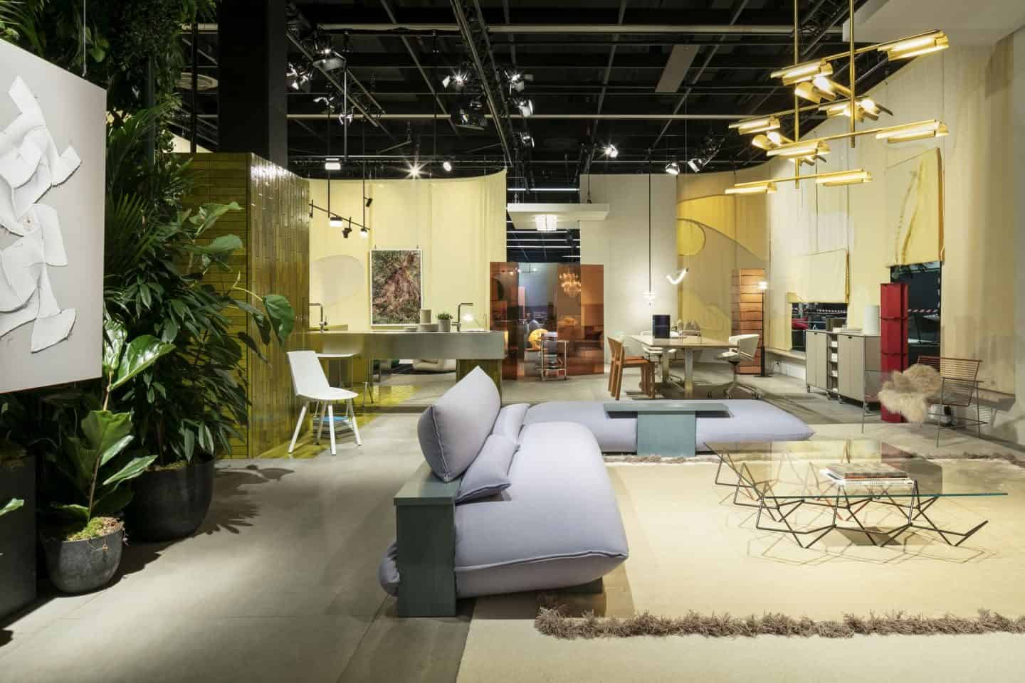 Imm Cologne 2019 Das Haus by Truly Truly - a house where the boundaries between the rooms disappear
