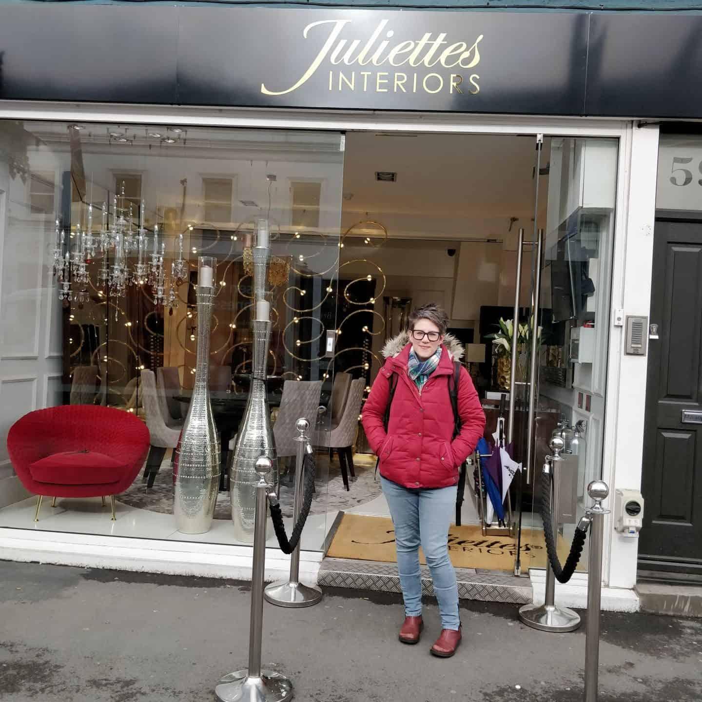 Julitette's Interior Design School on Kings Road in London