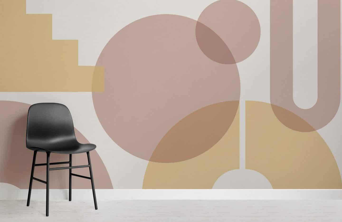 Muralswallpaper Bauhaus-inspired wall murals - Bilden