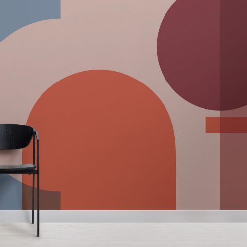 Muralswallpaper Bauhaus Collection - Dessau - Geometric wallpaper