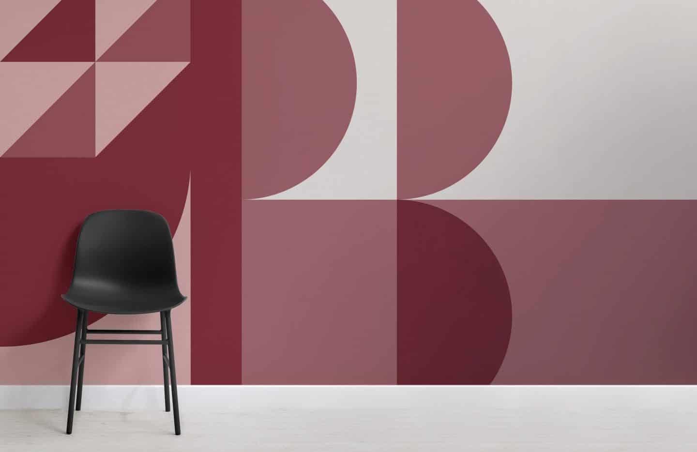 Muralswallpaper Bauhaus-inspired wall murals - Dreieck