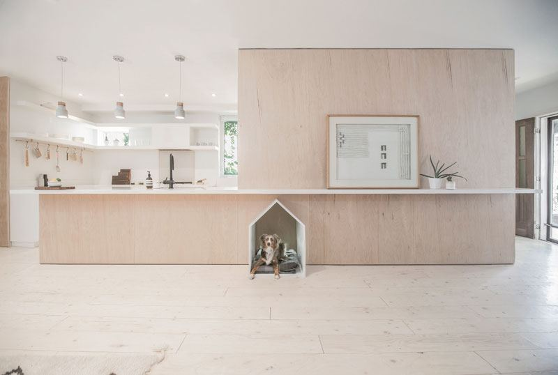 Dog house in a kitchen. How to solve this and other design dilemmas?