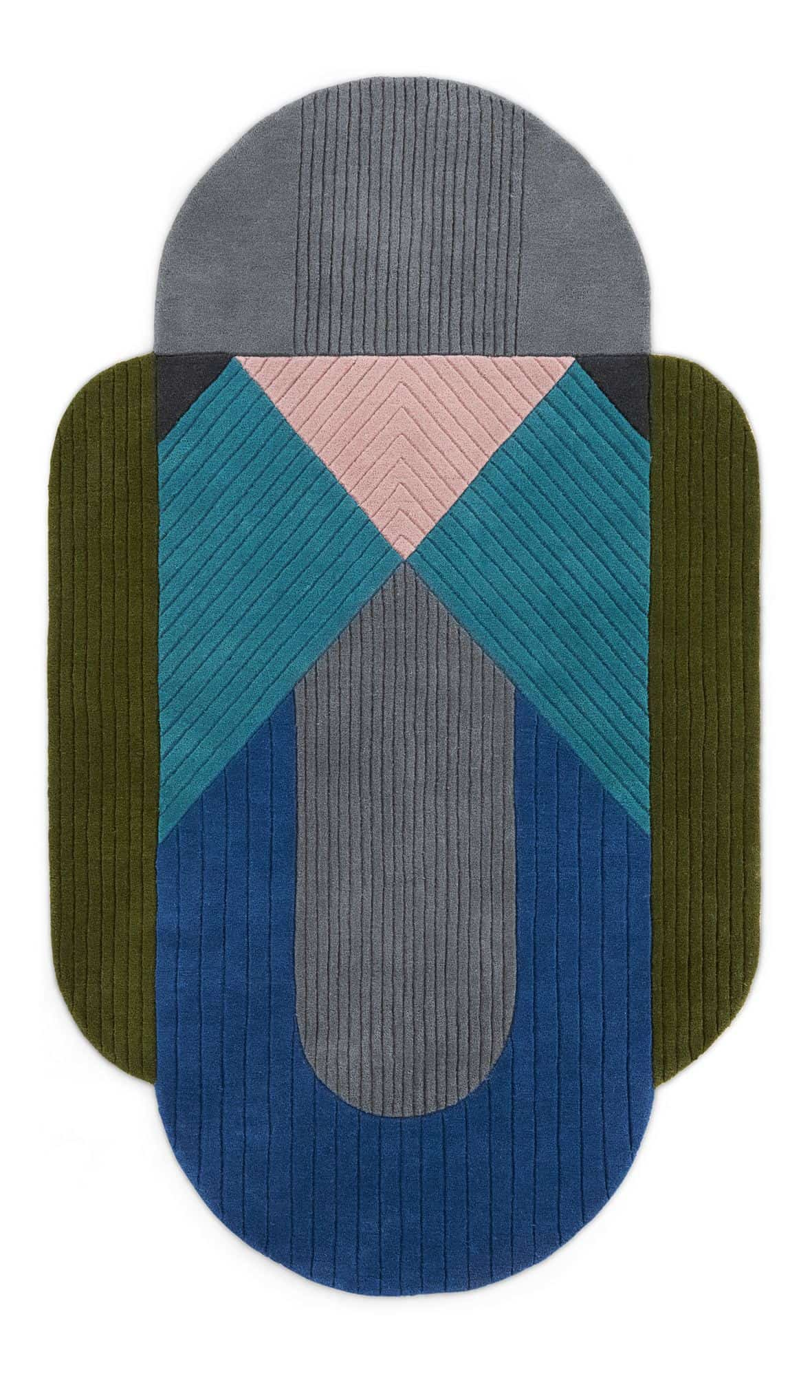 Balico hand-tufted rug made.com - unusual shaped rug