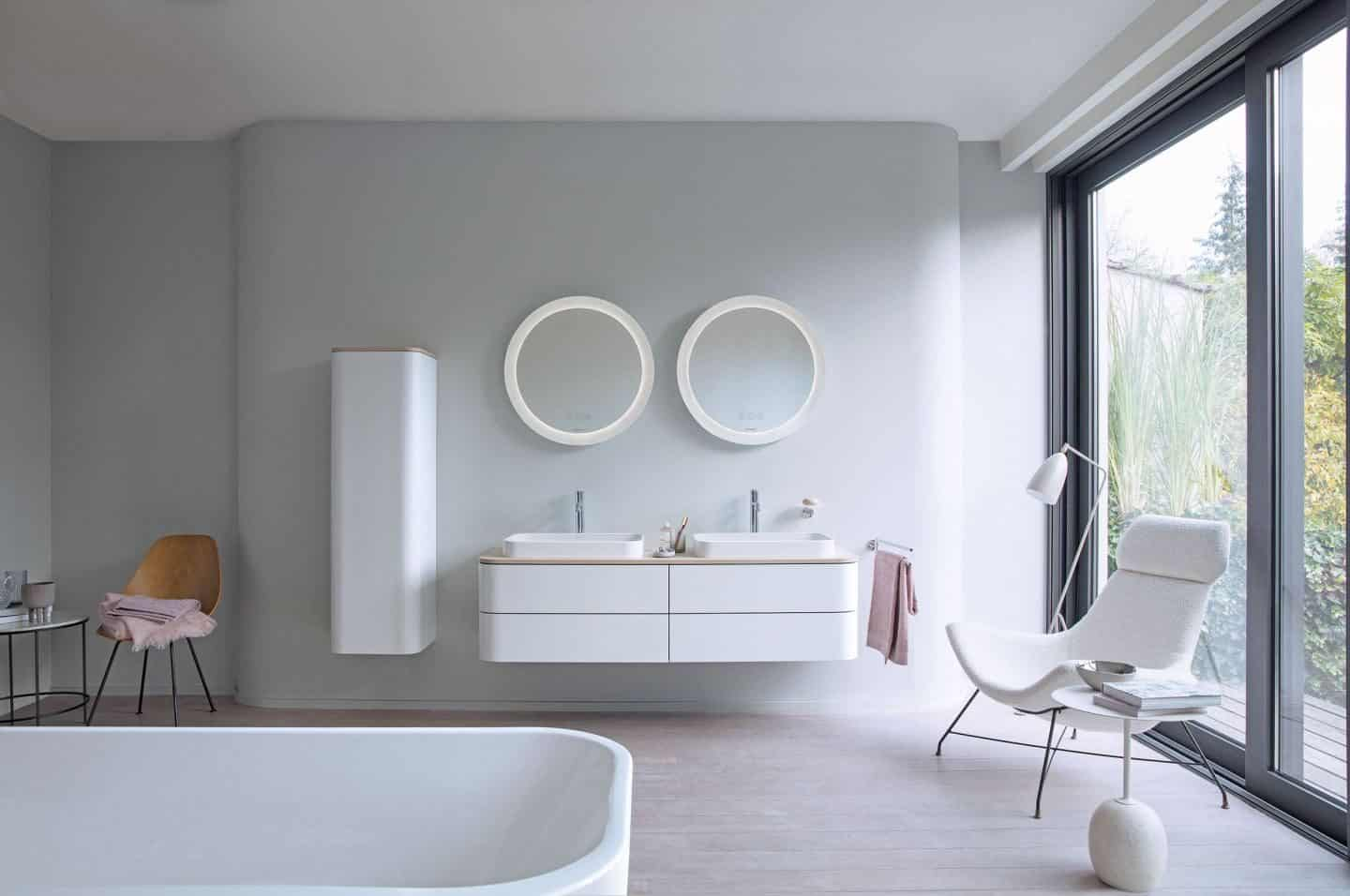 Happy D 2 plus bathroom range from Luxury bathroom brand Duravit