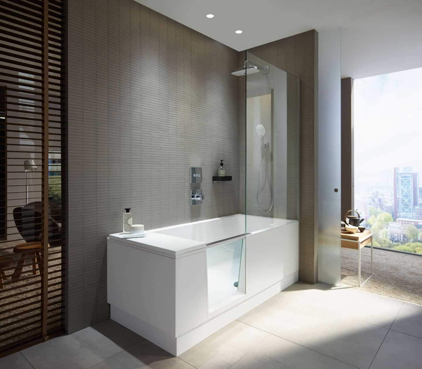 Showerbath from Luxury Bathroom Brand Duravit