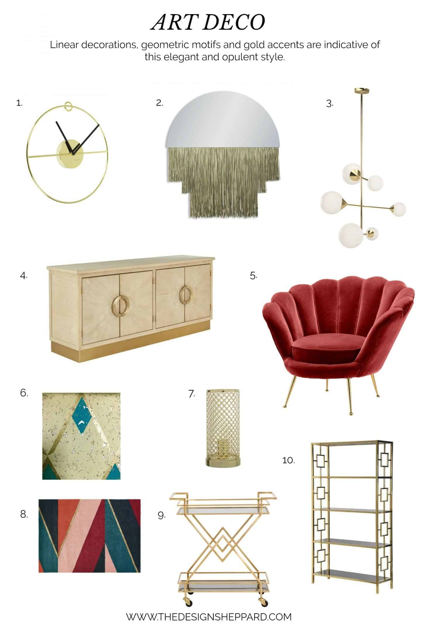 Interior Design Trend Art Deco