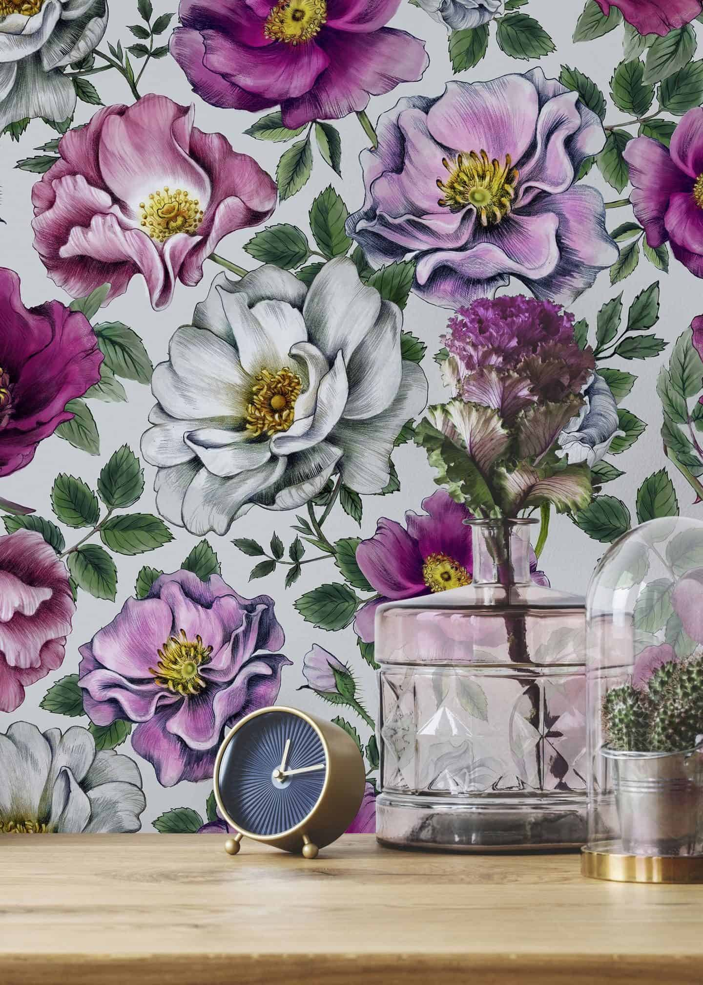 Dawn Chorus wallpaper by Saga Mariah Sandberg for Photowall