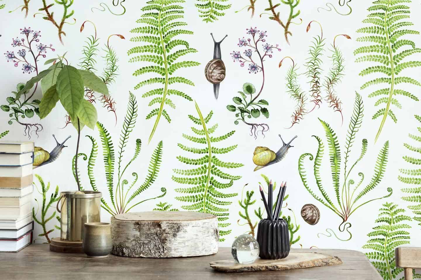 Dawn Chorus Wallpaper by Saga-Mariah Sandberg for Photowall