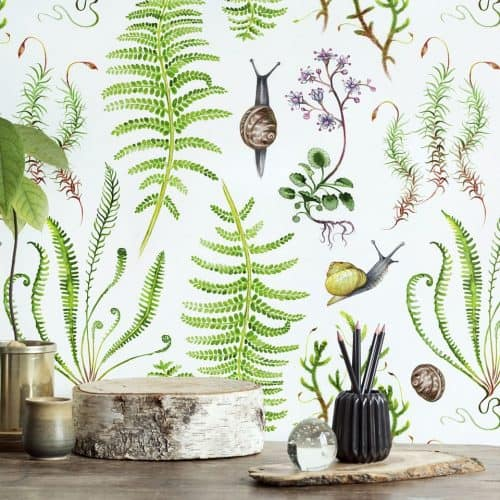 Dawn Chorus wallpaper collection by Saga-Mariah Sandberg for Photowall