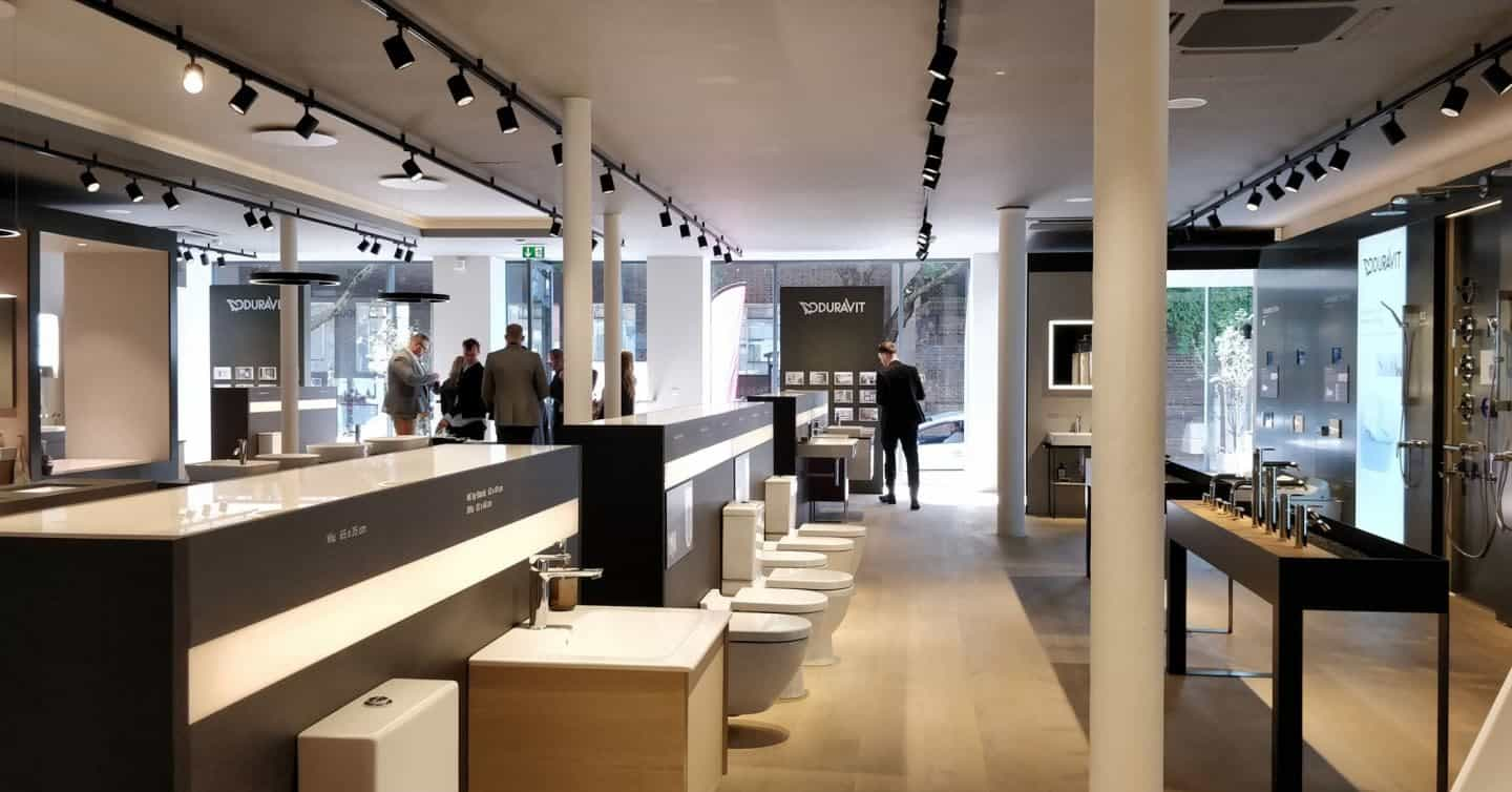 Inside the Duravit Showroom in Clerkenwell