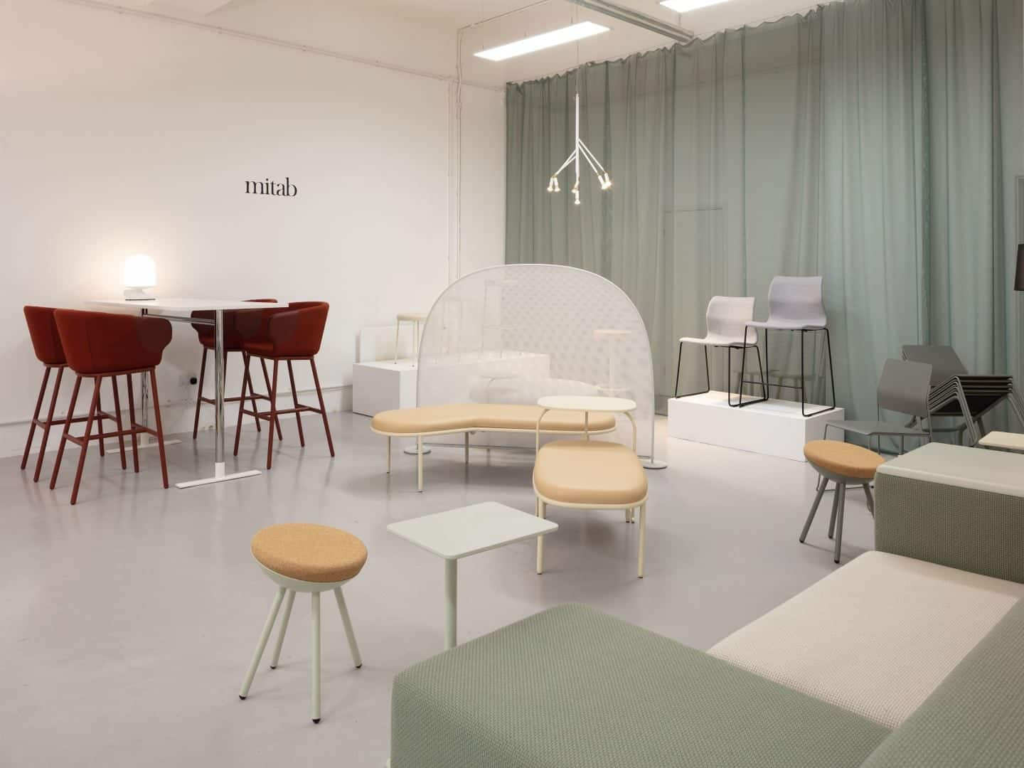 Clerkenwell Design Week 2019 pop-up exhibition by Relay Design Agency featuring Mitab
