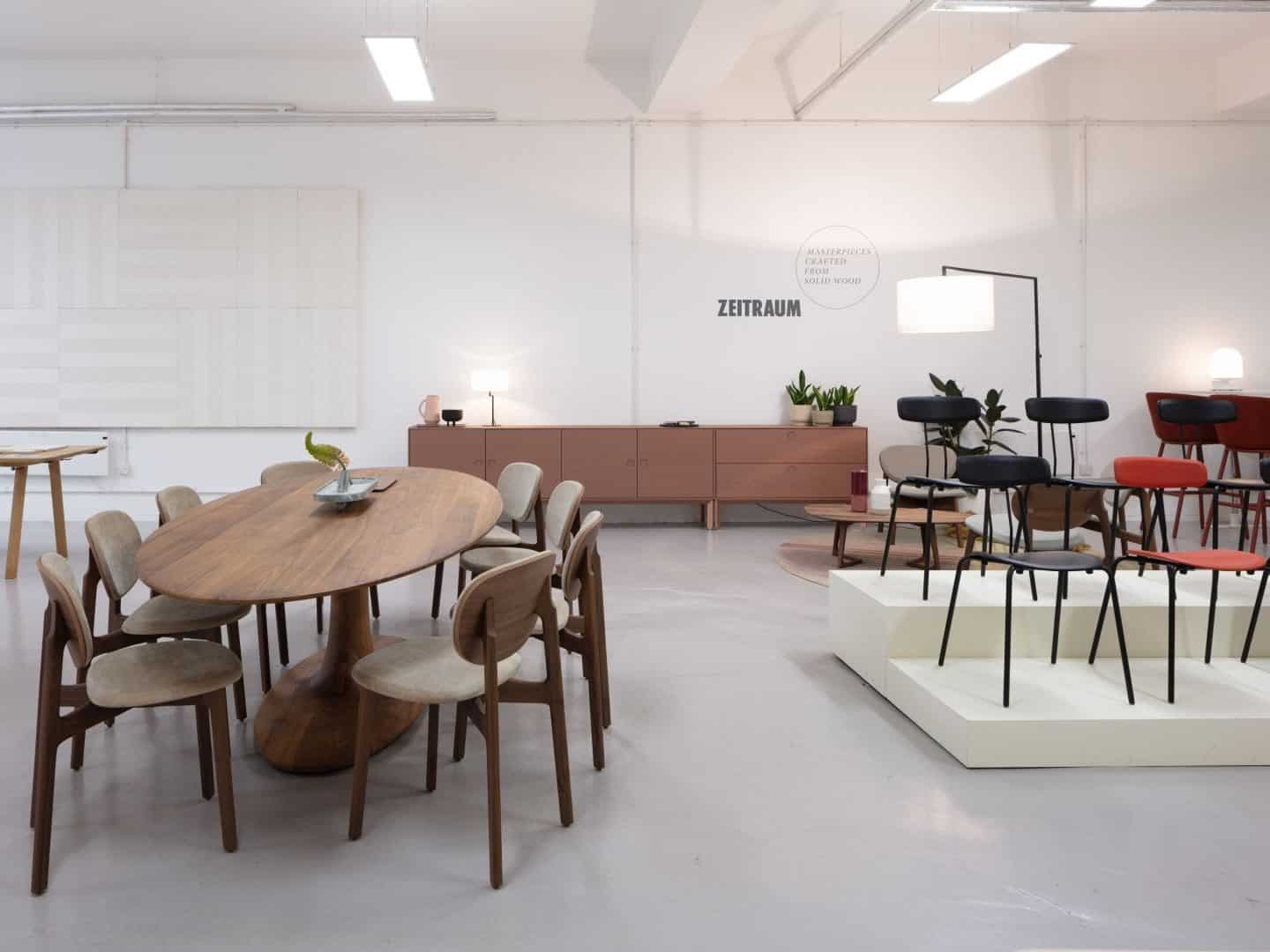 Clerkenwell Design Week 2019 pop-up exhibition by Relay Design Agency featuring Zeitraum