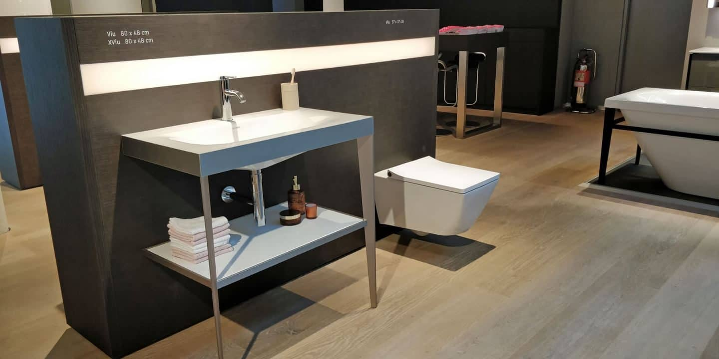 New Duravit Viu & XViu collection in the Duravit Showrrom in Clerkenwell