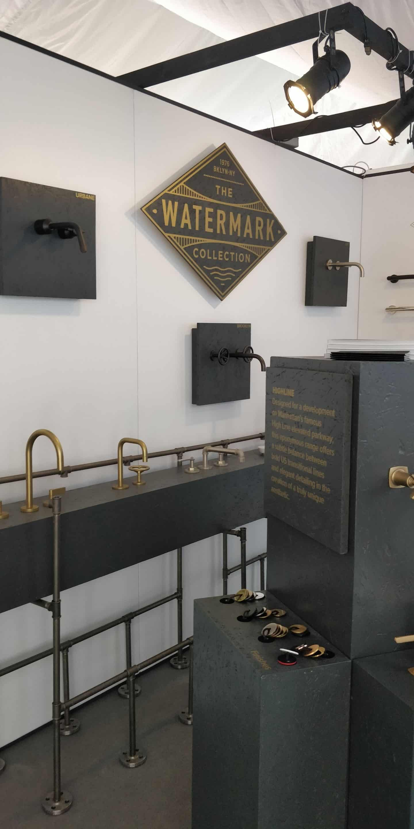 Watermark Collection at Clerkenwell Design Week 2019