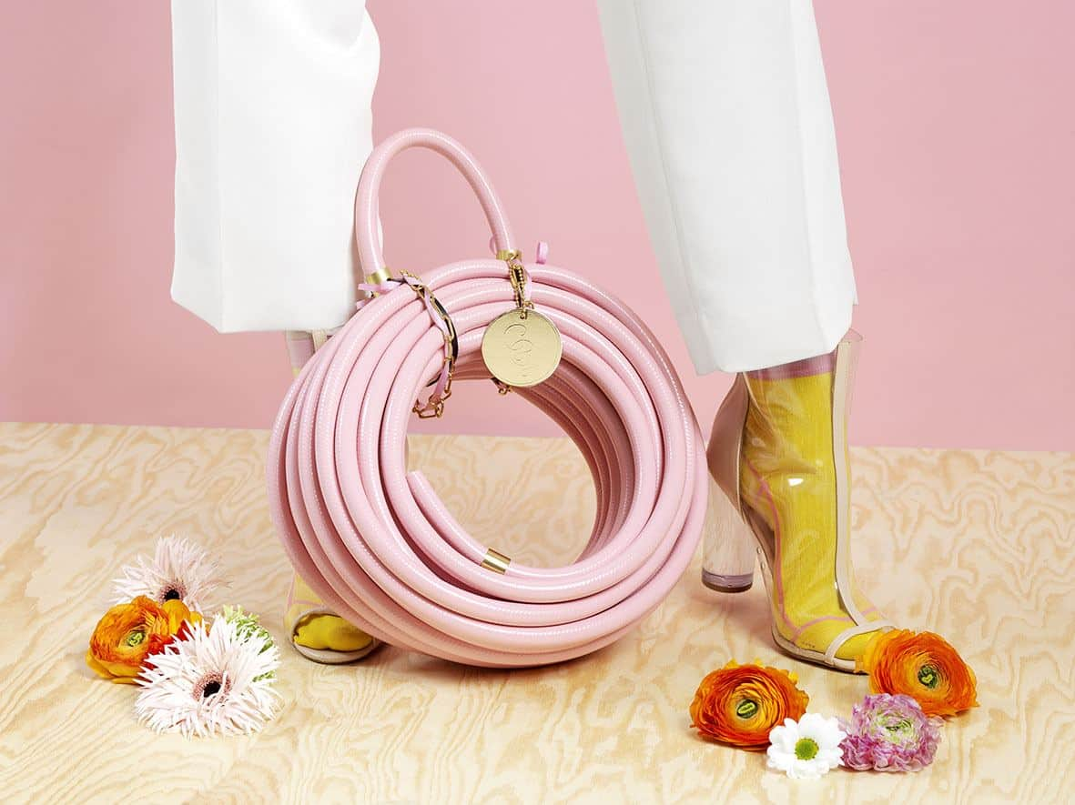Garden Glory - Stylish garden equipment - pink garden hose