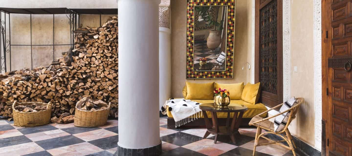 El Fenn is a boutique hotel in Morocco featured by Maison Flaneur