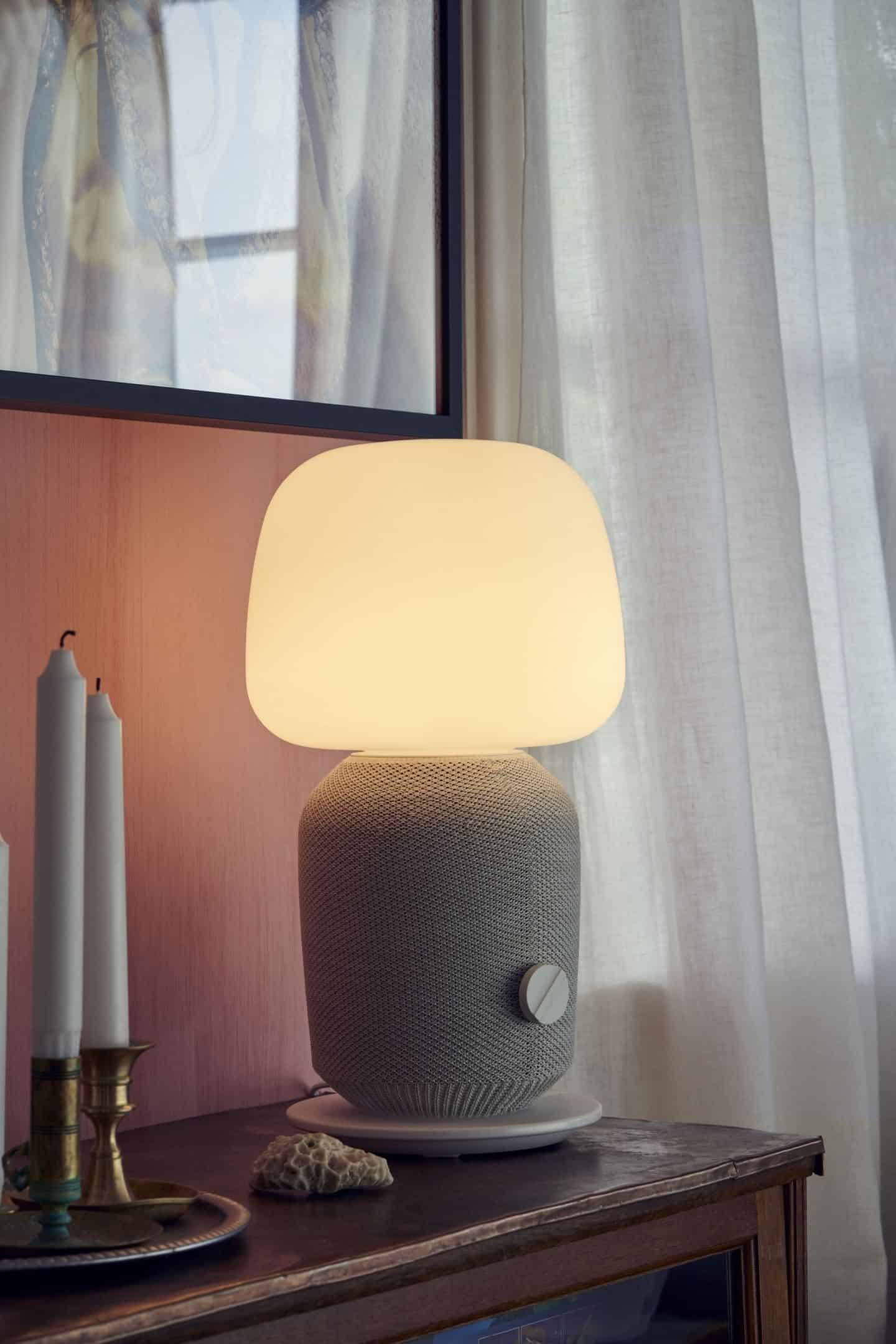 Symfonisk speakers range from IKEA and SONOS features a smart speaker lamp