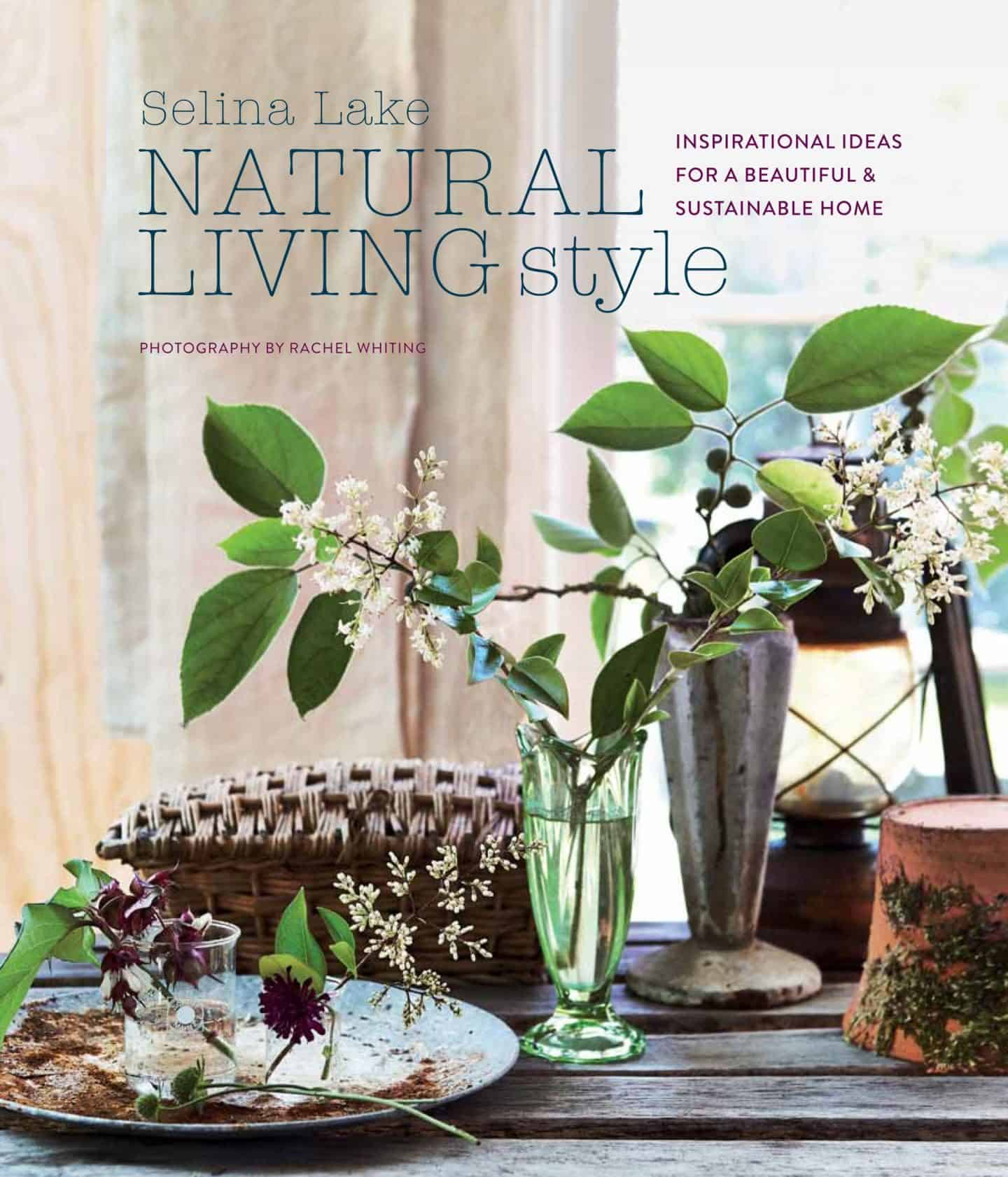 Natural Living Style by Selina Lake -book cover