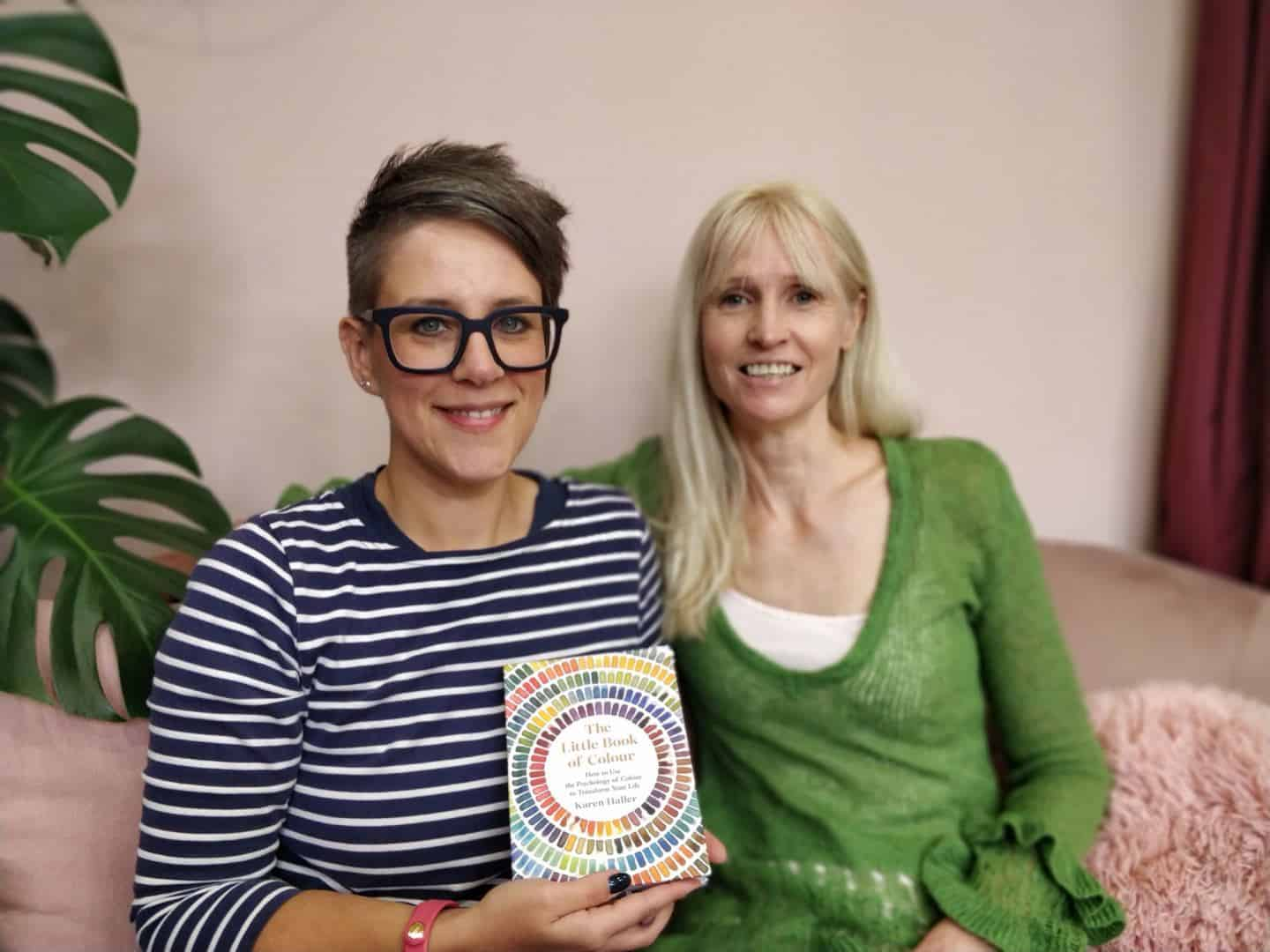 Stacey Sheppard and Karen Haller discuss the transformational power of colour and talk about her new book The little Book of Colour