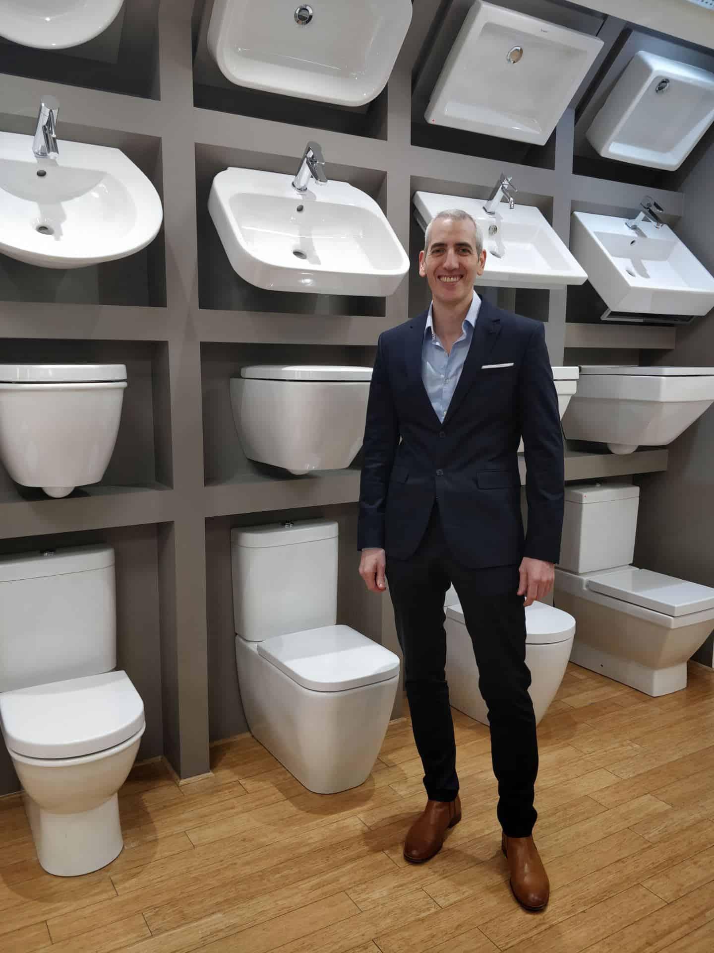 Brian Witcomb, founder of premium bathroom showroom, The Showroom Ltd