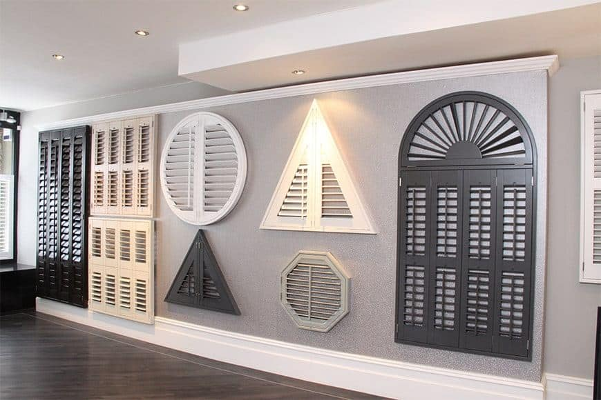 Diamond Shutters in the showroom - how to choose the right window shutters for your home