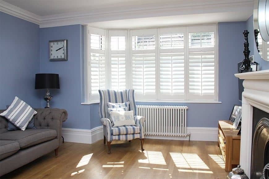 Diamond Shutters in a living room - how to choose the right window shutters for your home