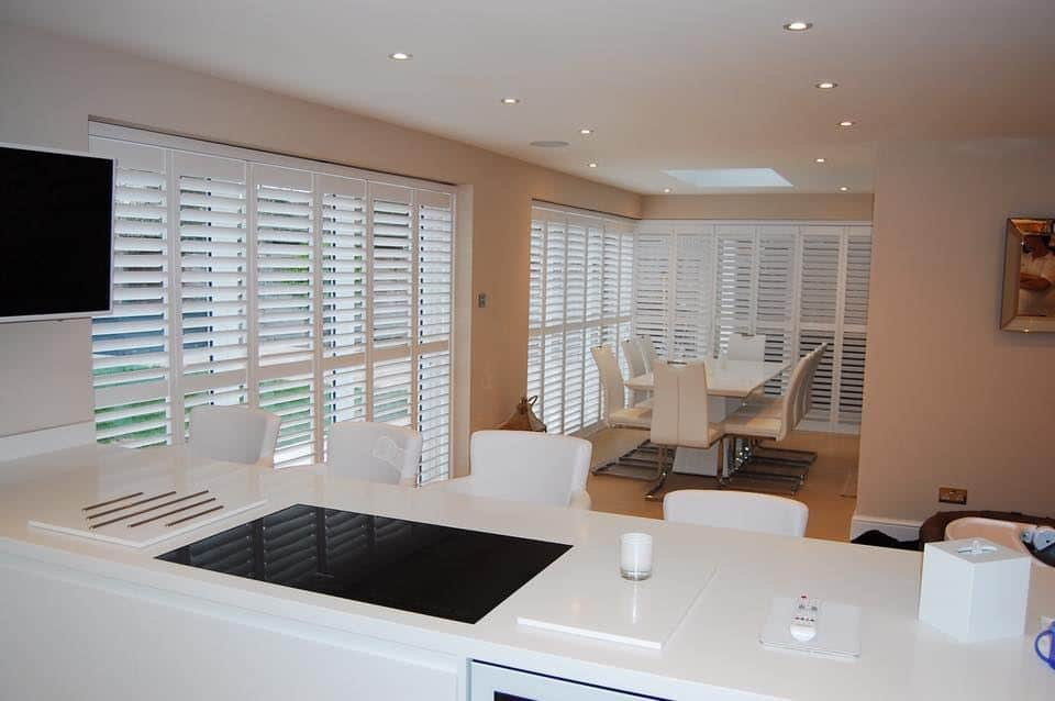 Diamond Shutters in a kitchen - how to choose the right window shutters for your home